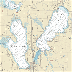 Inland Lakes Map